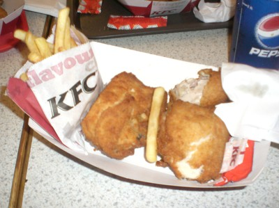 kentucky fried chicken sverige