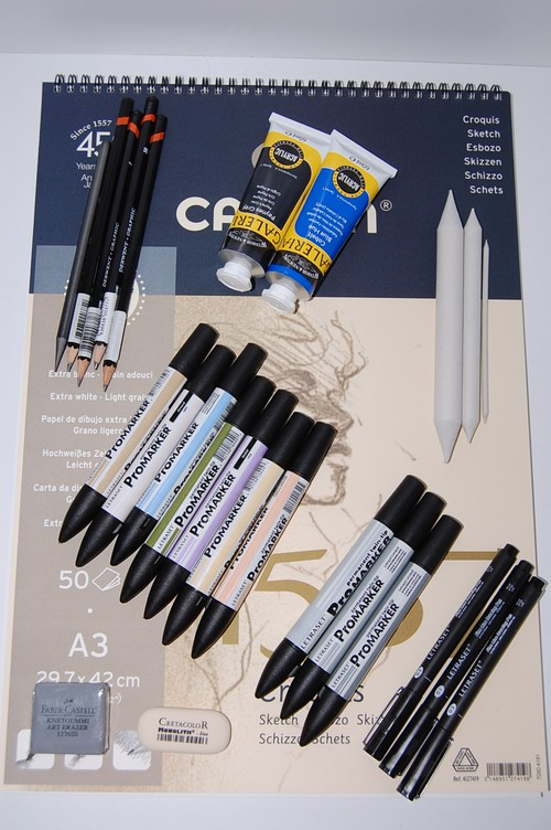 promarker pennor clas ohlson