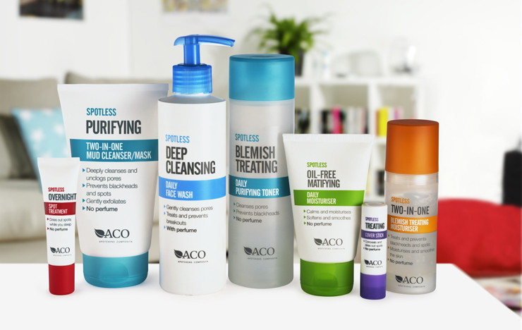aco spotless daily face wash recension
