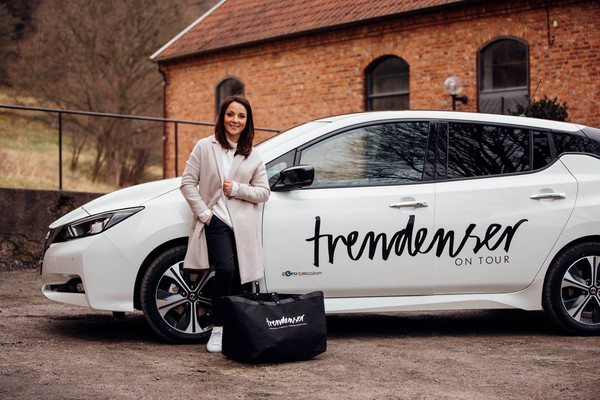 Trendenser On Tour med Nya Nissan LEAF - Avsnitt 1