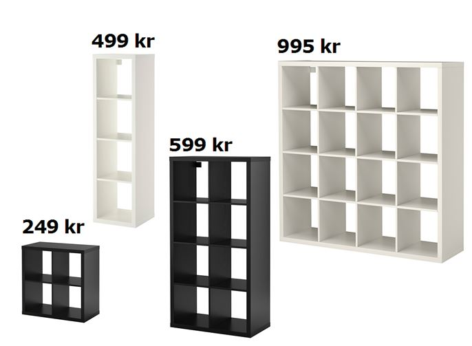 unterschied expedit kallax wohn design. Black Bedroom Furniture Sets. Home Design Ideas