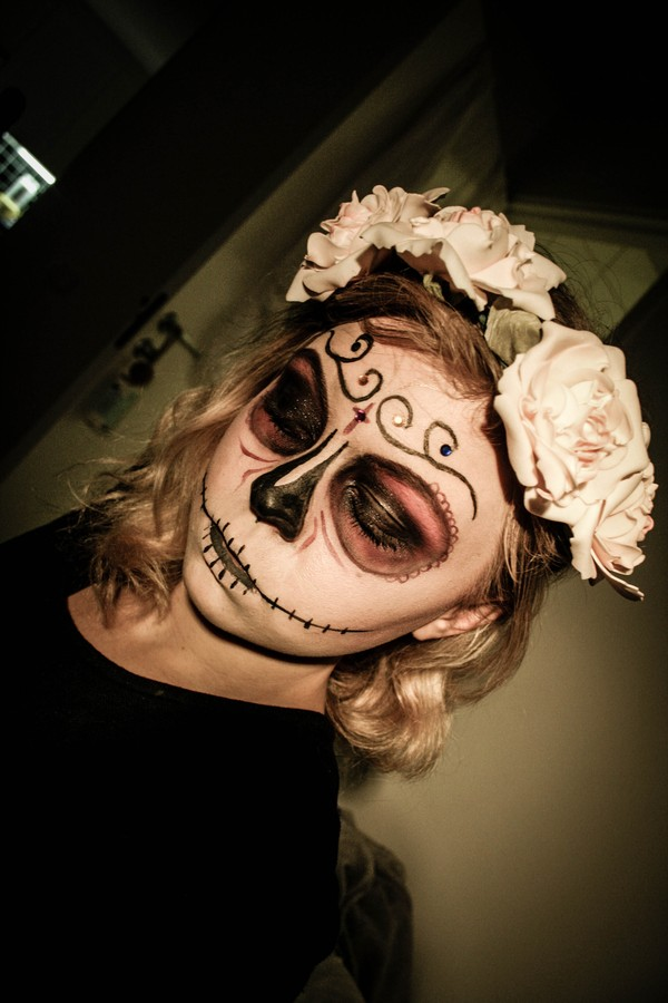 Halloween makeup - The Granberg Issue 278a96cf22c8d