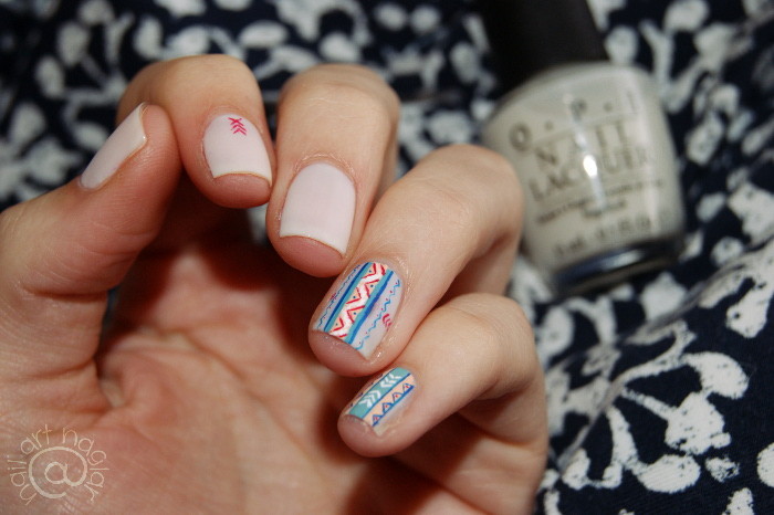 Native pattern nails