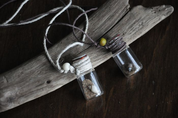 bottle necklaces