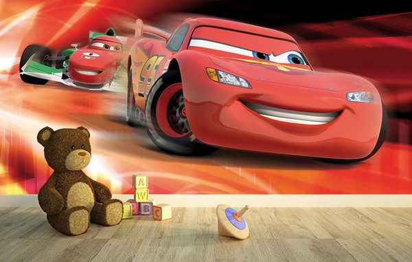 Pojkrum Tapet Disney Tapet Bilar Cars