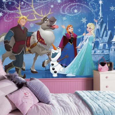 tapet flickrum flick tapet frost disney fondtapet