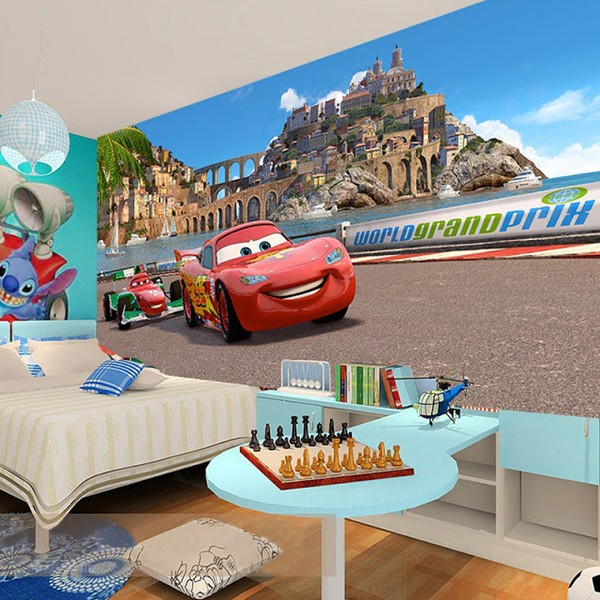 Tapet Bilar Disney Cars Tapet