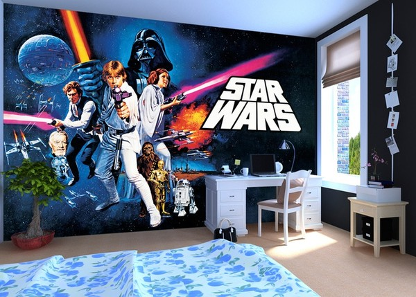 tapet inspiration barnrum star wars
