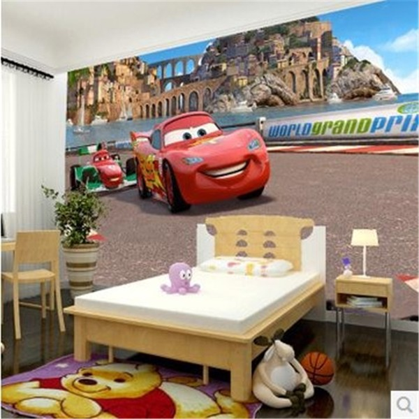Disney tapet barn Disney Cars killtapet kille Fototapet barnrum