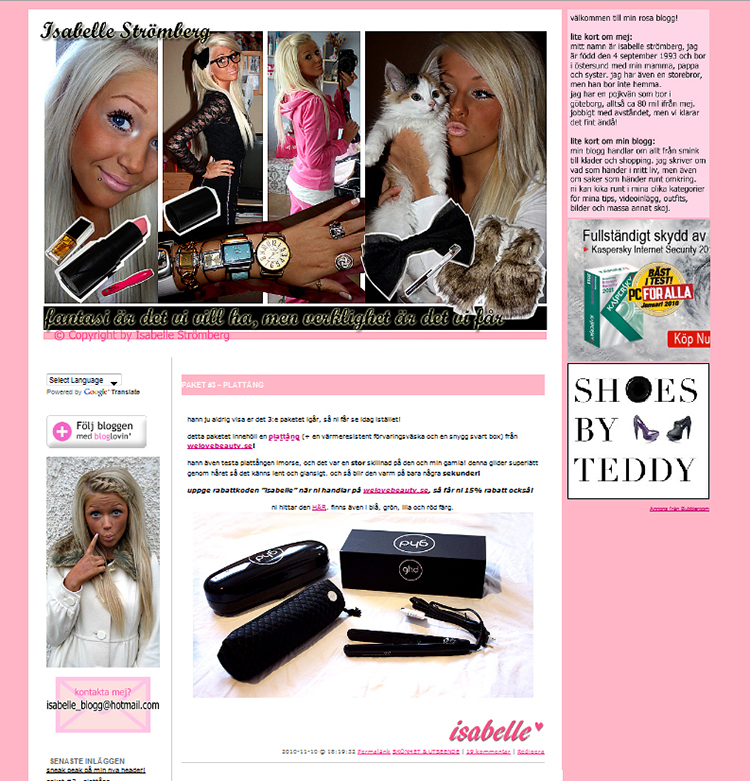 isabelle blogg