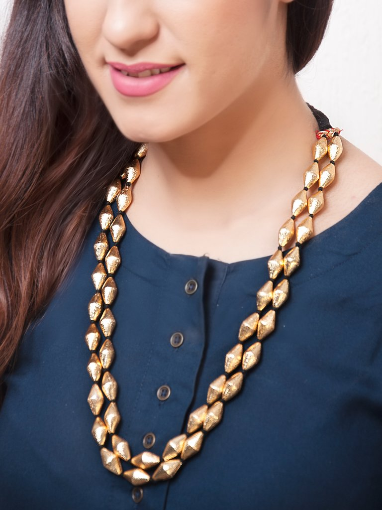 Button-up dress- selecting the right necklace for a button-up dress can be  tricky. It is best to go for a statement neckpiece that would accentuate  the ... 9227c7b01