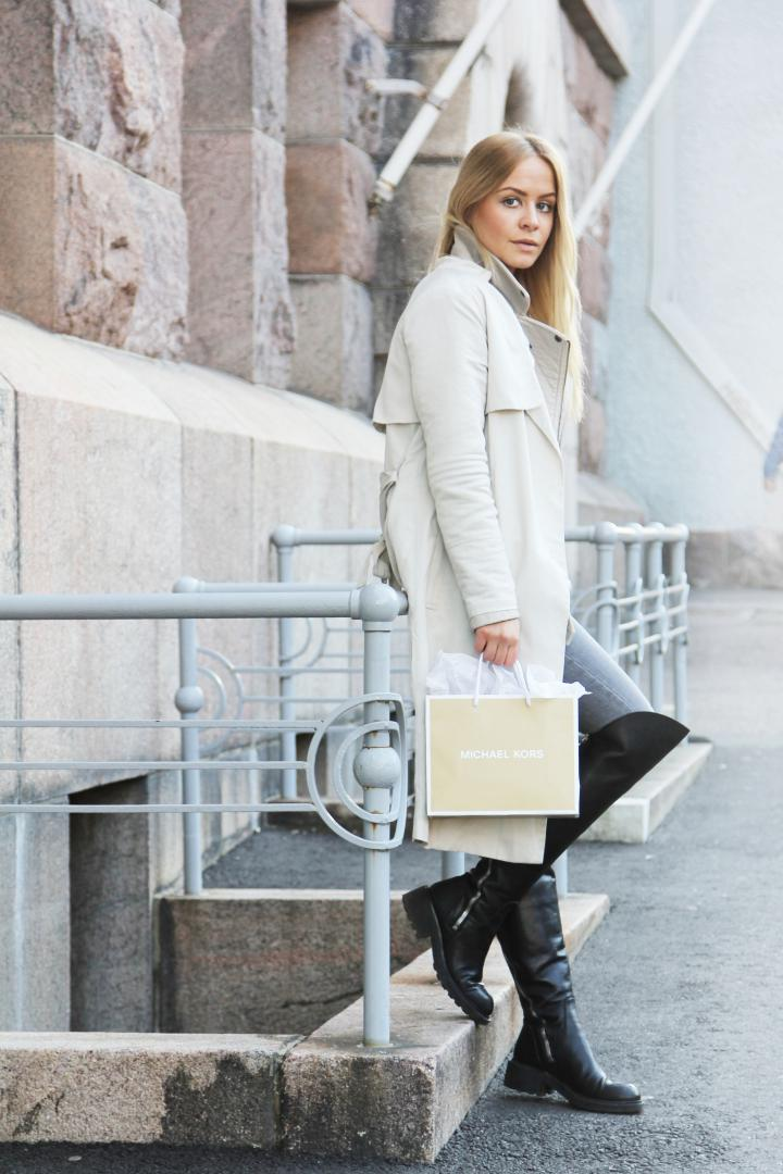 TODAYS OUTFIT MICHEAL KORS HELSINKI FASHION BLOGGER