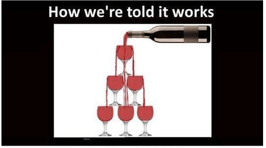 trickle down works