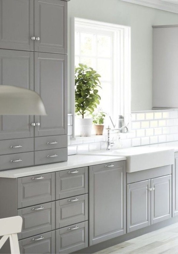 kitchen design grey colour yttersj 246 viken k 246 k ikea 4450
