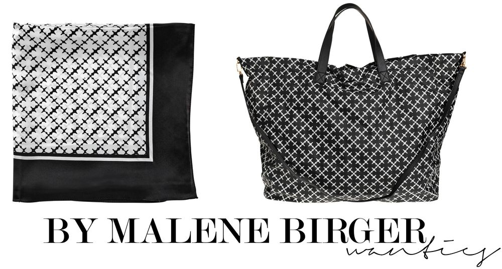 Therez.se Black and white By Malene Birger