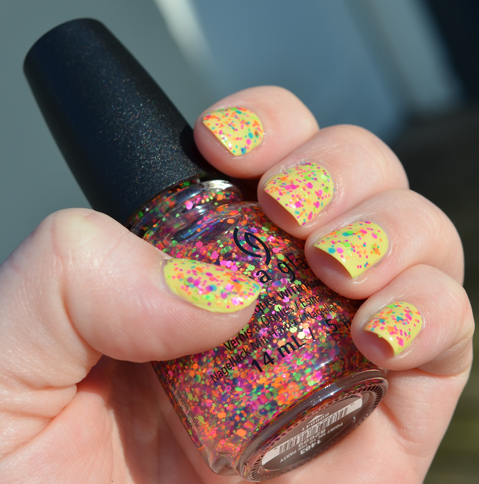 china glaze point me to the party isadora sunny lime