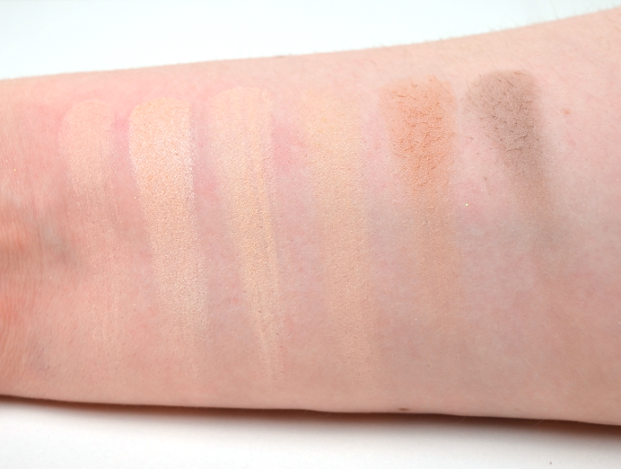 freedom makeup review swatches2