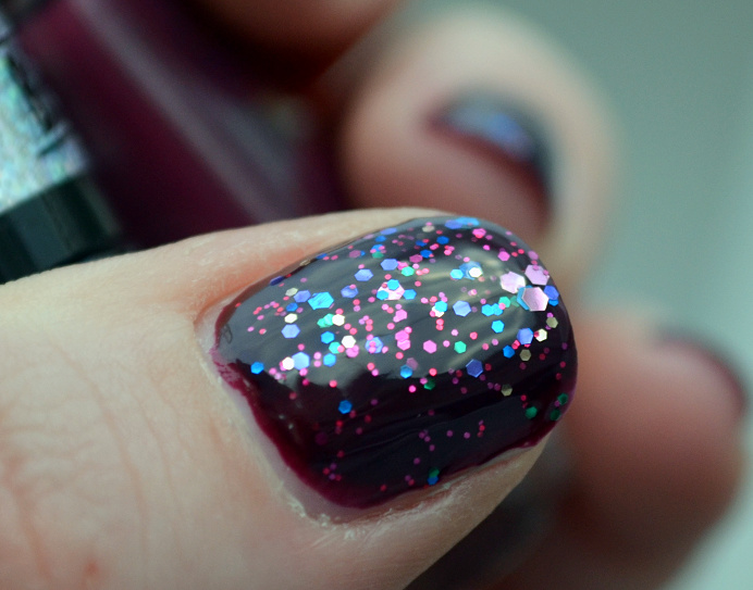 loreal blakes pure red maybelline purple dazzle.png