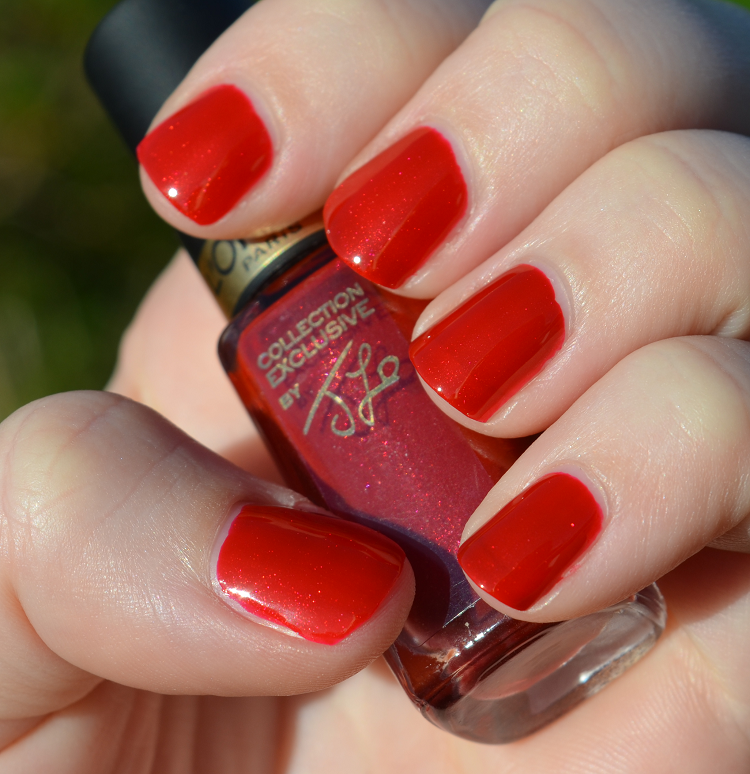 loreal jlos pure red
