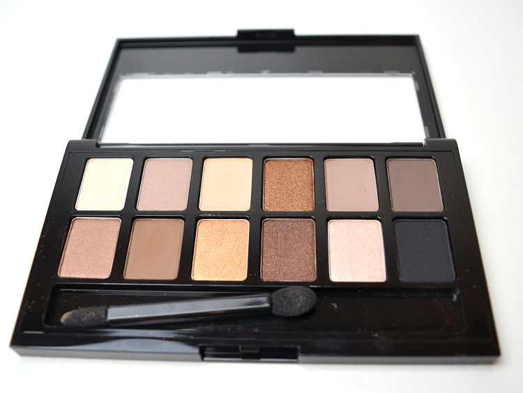maybelline the nudes palette2