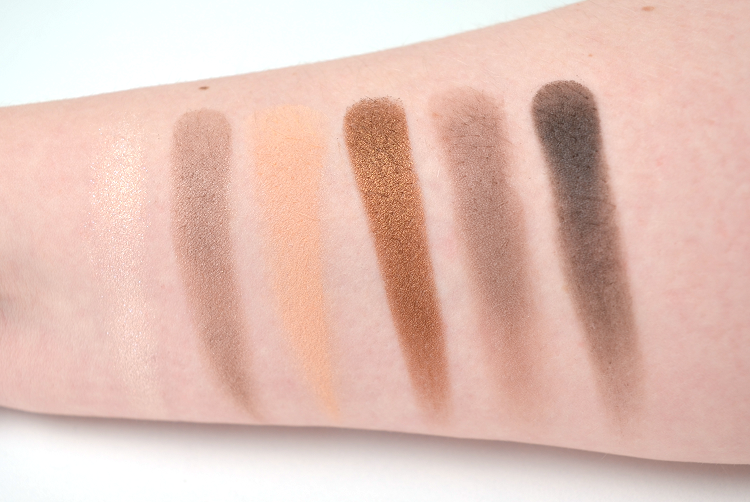 maybelline the nudes palette3