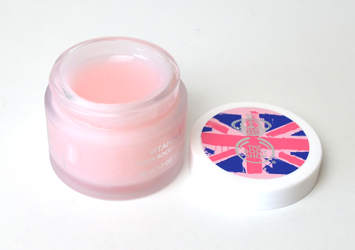 the body shop vitamin e serie aqua boost sorbet