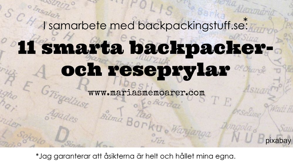 11 smarta reseprylar från backpackingstuff
