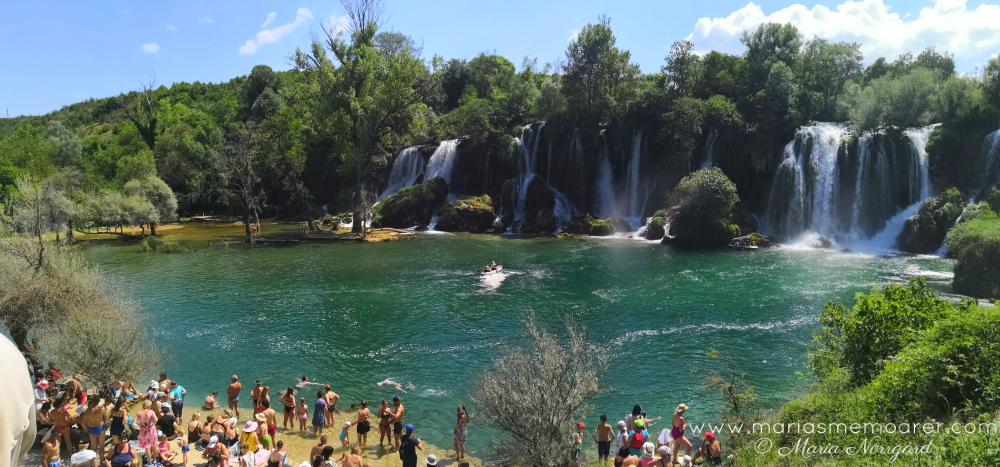 kravica waterfalls cascades, bosnia and herzegovina