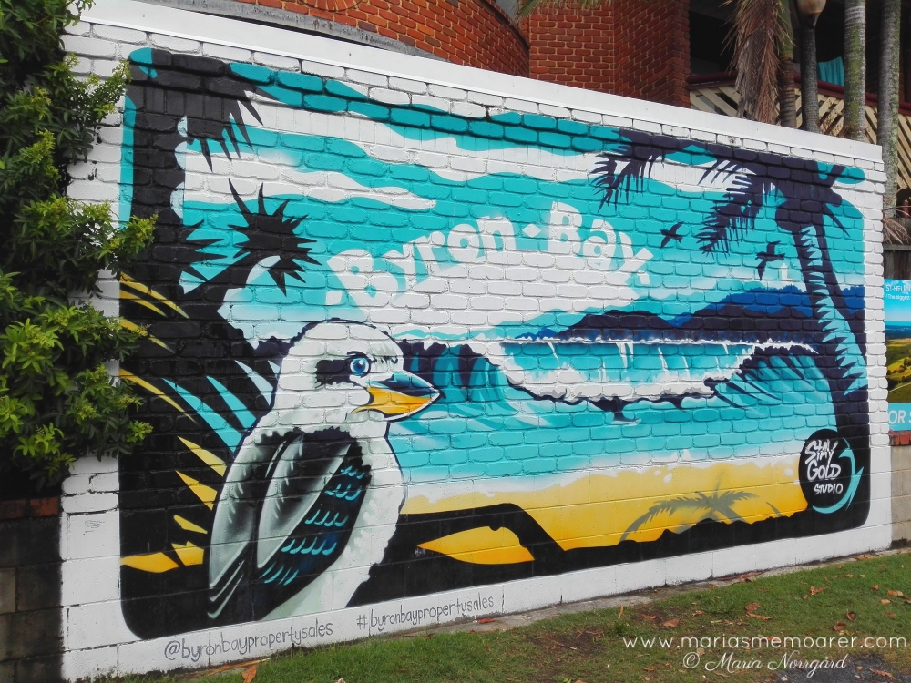 street art in Byron Bay, New South Wales, Down Under