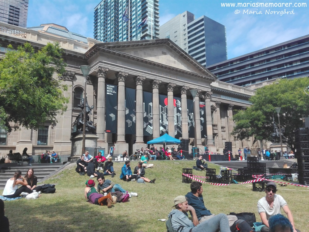 Sightseeing in CBD, Melbourne - State Library of Victoria