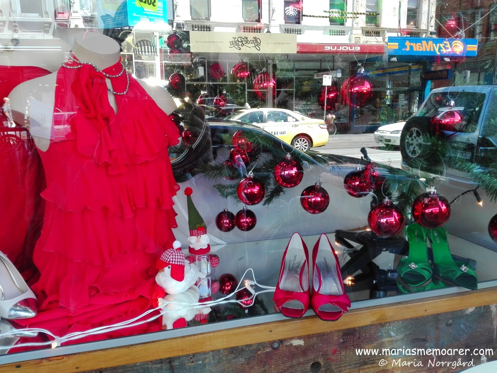 Christmas time on Chapel Street, Melbourne