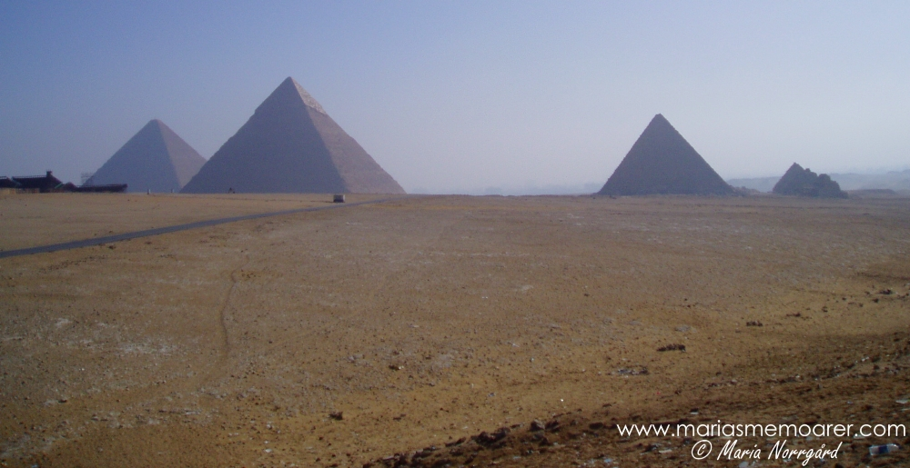 Pyramiderna i Giza / the pyramids of Giza