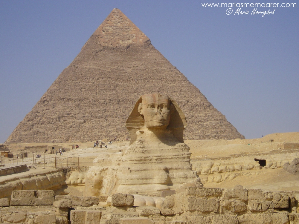Sfinxen i Giza, Egypten / The Great Sphinx of Giza, Egypt