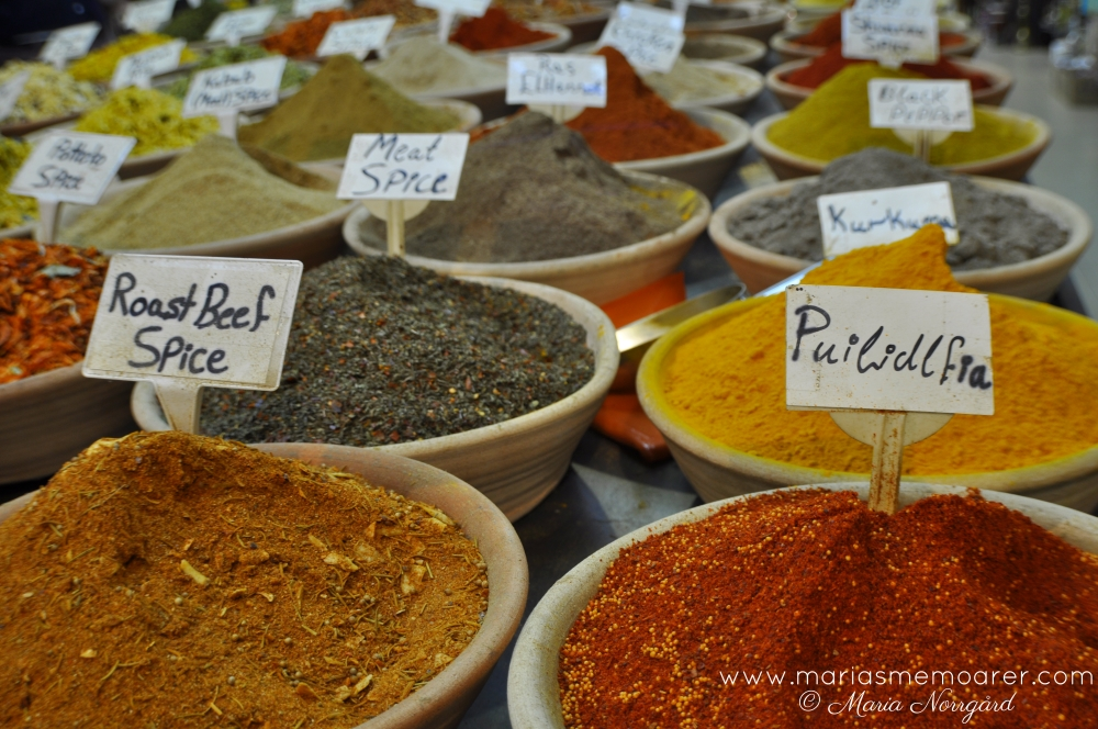 spices on middle east market, Jerusalem
