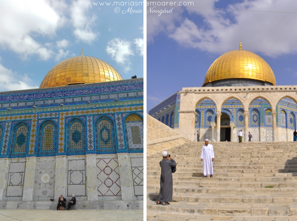Qubbat As-Sakhrah on Temple Mount, Jerusalem