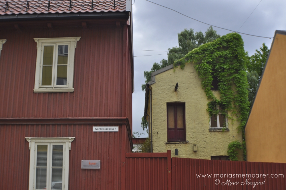 sightseeing: old town feel in Kampen, Oslo