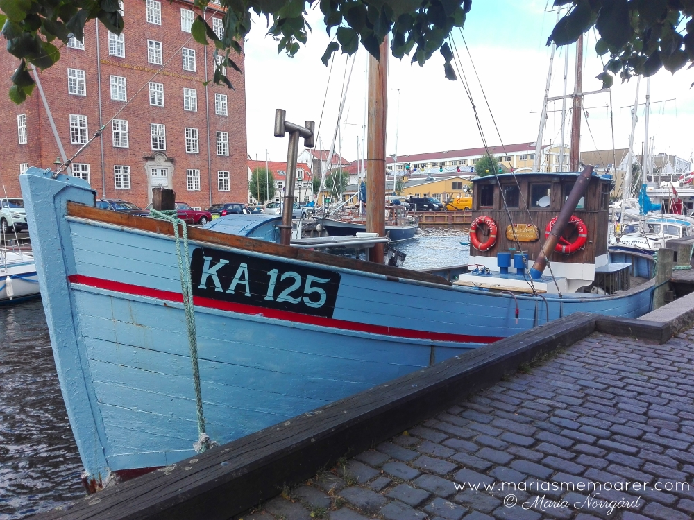 sightseeing in Copenhagen: houseboats Christianshavn