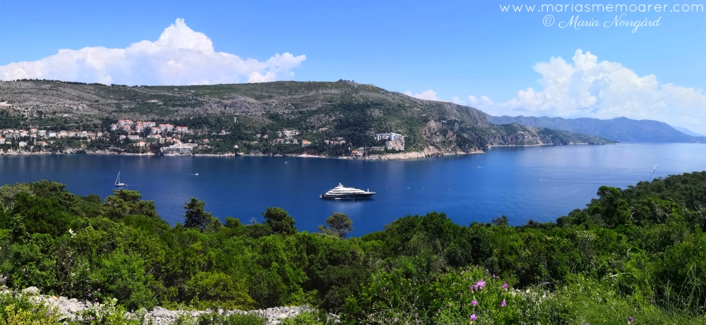things to do in Dubrovnik, Croatia - view from top of Lokrum Island / sevärt i Kroatien: vyer från Lokrum