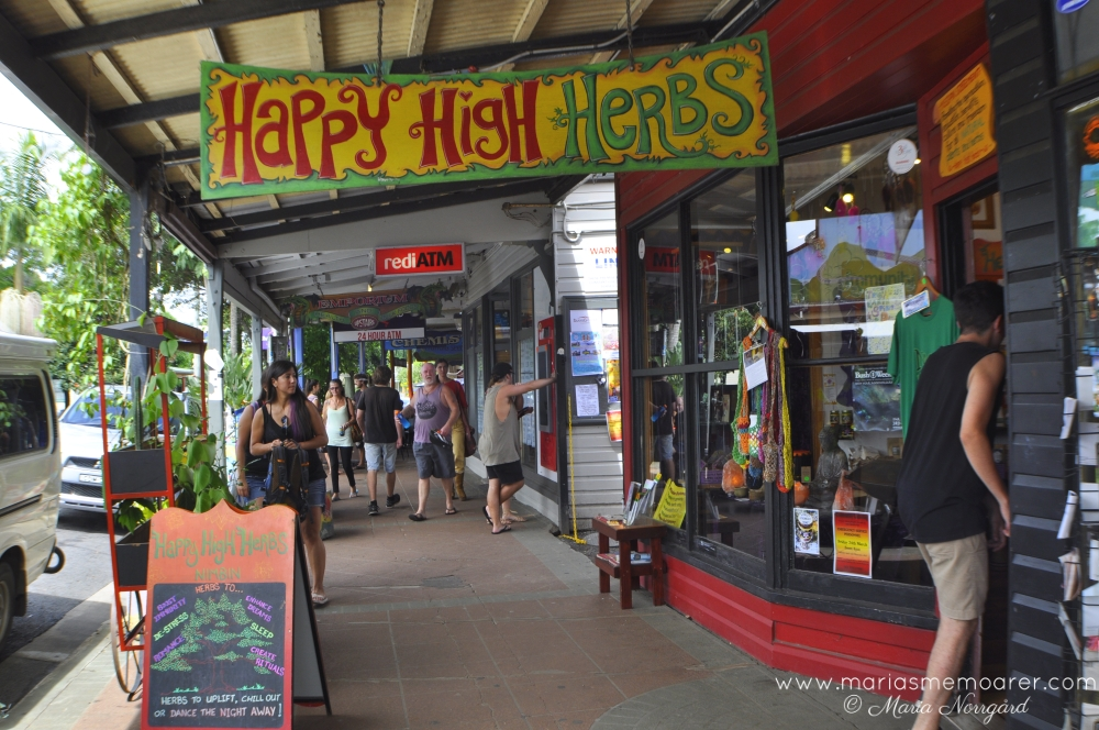 Nimbin hippie town in New South Wales, Australia