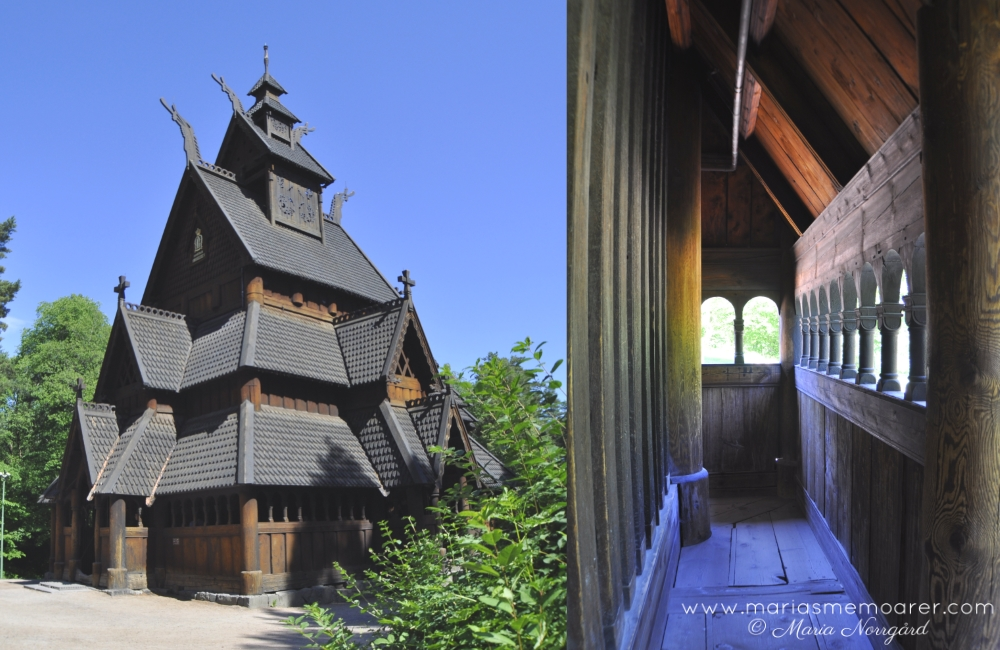 Norwegian Museum of Cultural History, stave church, Oslo