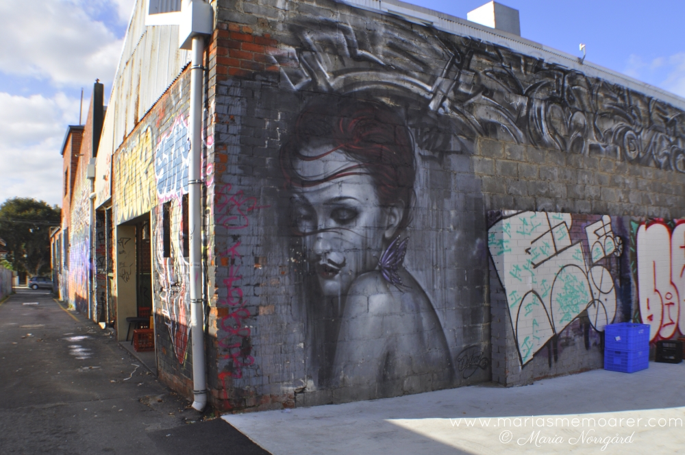 street art lane in Northbridge, Perth, Western Australia