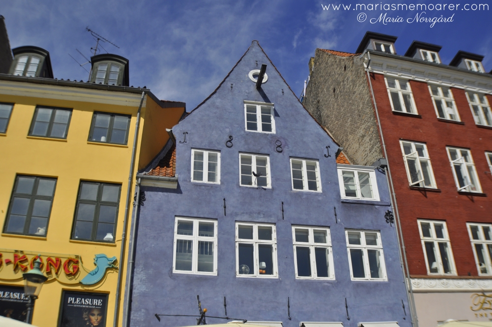 architecture of Copenhagen in Nyhavn