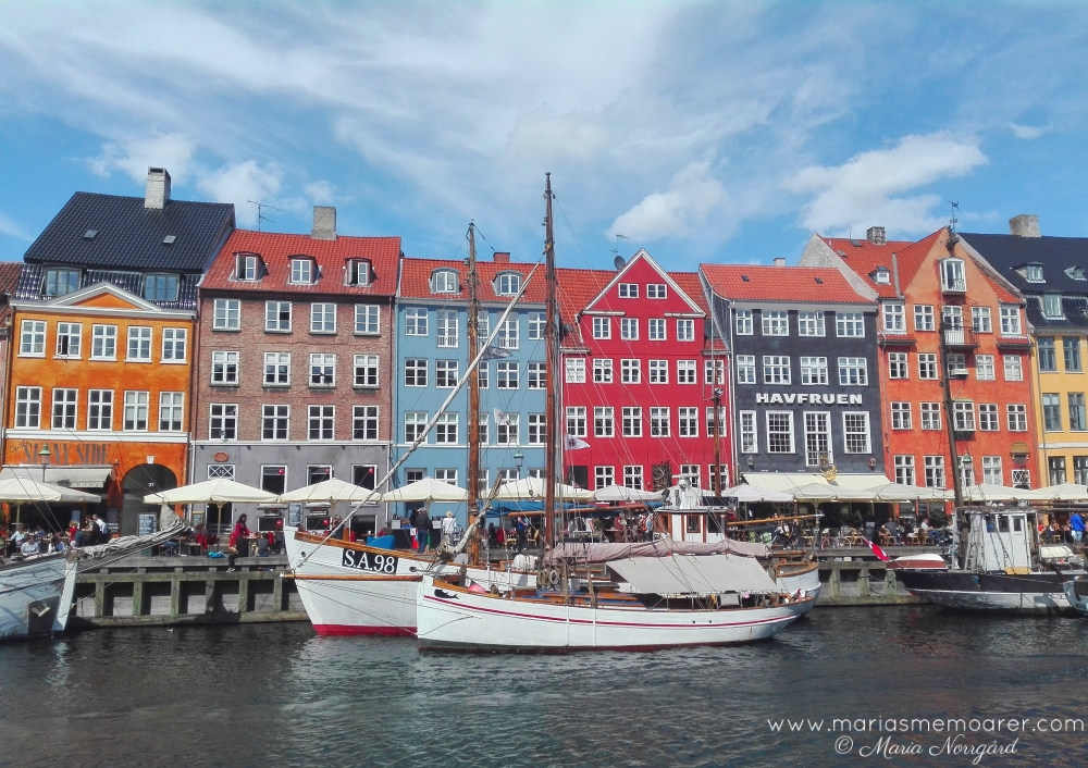 sightseeing in Copenhagen - Nyhavn