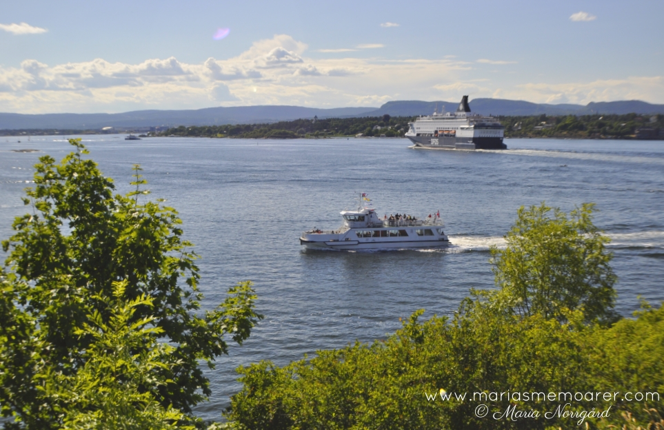 sightseeing in Oslo - visit the islands in Oslofjord