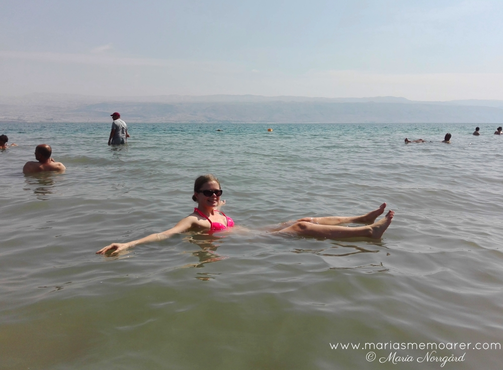float in the Dead Sea - West Bank / Palestine
