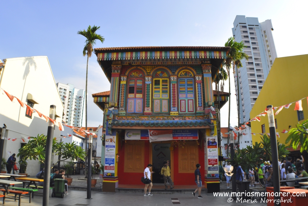 House of Tan Teng Niah in the Singaporean neighborhood of Little India