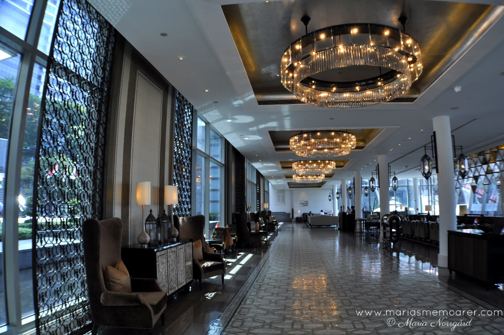 Luxury hotel in Singapore - The Fullerton Bay - lyxhotell i Singapore