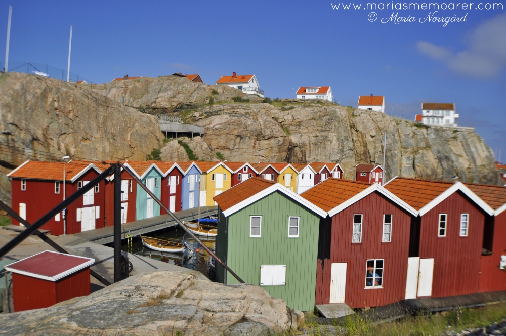 colourful places to Visit - Smögen in Sweden, Scandinavia