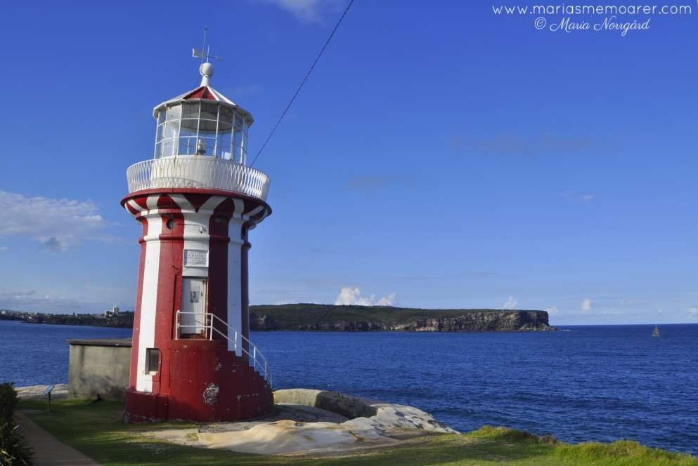 Hornby Lighthouse in Watsons Bay, Sydney, Australia / NSW Australien