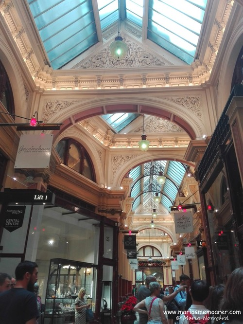 The Block Arcade heritage shopping centre, Golden Mile heritage walk